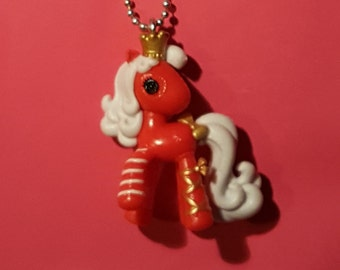 Lalaloopsy red pony miniature necklace