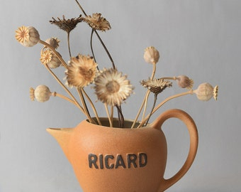 Vintage Ricard Water Jug Pitcher France