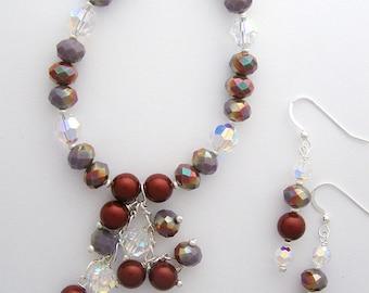 Mixed Mauve Bracelet Set