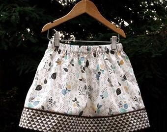 Fawn - Panel Skirt (Size Medium)