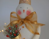 Beautiful and Unique Handmade Snowman Christmas Decoration