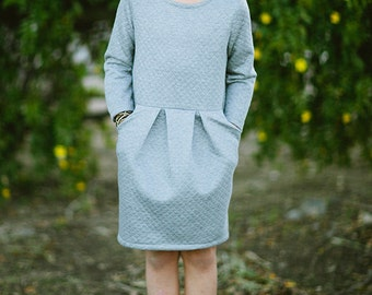 INSTANT DOWNLOAD- Audrey Dress (Sizes 2 to 10) PDF Sewing Pattern and Tutorial
