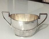 Antique Gorham Queen  Ann Silver Soldered Sugar Bowl/ Art Nouveau/ By Gatormom13
