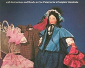 Easy to Make Godey Doll Dover Needlework Series Complete Wardrobe Doll Sewing Pattern Doll Clothes Sewing Pattern Vintage Pattern Uncut