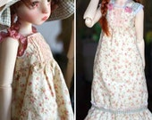 Pattern of Garden Party for Kaye Wiggs 45cm MSD and 53cm Nelly - PDF