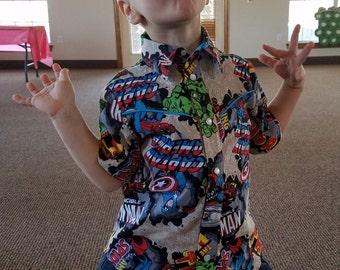 Boy's Pearl Snap Shirt