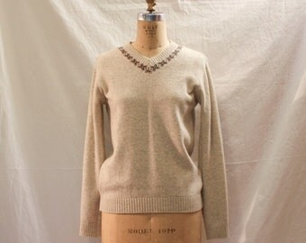 Capri Wool Sweater, Pullover
