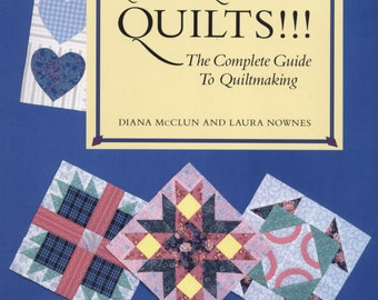Quilts! Quilts! Quilts! by Diana McClun and Laura Nownes TIB12394