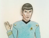 Spock Star Trek Paper Doll