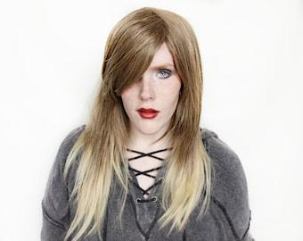 SALE Brown wig | Long Brown wig | Balayage wig, gradient wig | Halloween wig, Medieval Renaissance wig | Enchanted Dream