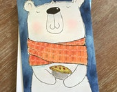 CARD Polar Bear Pie