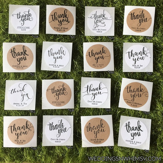 Wedding Gift Tags And Labels : Labels, Wedding Favor Labels / Stickers, Classic / Rustic Favor Labels ...