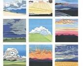 2016 wall calendar, 2016 calendar, fine art calendar, landscape, gifts