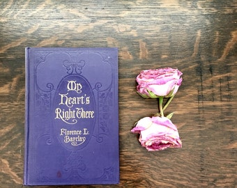 My Heart's Right There Antique Book 1915 World War I First World War Nurse Nursing Perspective Florence Barclay Hard To Find Vintage Book