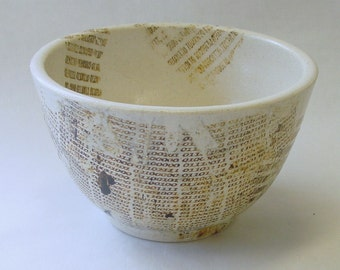 Binary Tears in Rain Lithographed Bowl v3.0