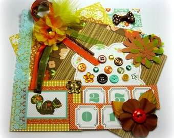Webster's Pages Family Traditions Embellishment Kit, Inspiration Kit, for Scrapbook Layouts Cards Mini Albums and Paper crafts 1