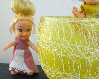 Vintage Storykins Cinderella Doll - Hasbro 1967 - Big Eye Doll - Storykins Doll - Cinderella Fairy Tale Doll