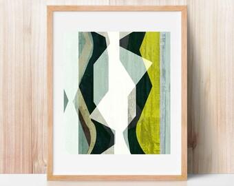 modern mid century, Graphic art, neutral colors, geometric art, abstract print, illustration, abstract art, wall art, office art, art