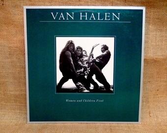 VAN HALEN - Women and Children First - 1980 Vintage Vinyl Record Album