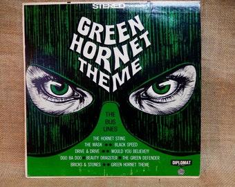 The Bus Lines - GREEN HORNET THEME - Vintage Vinyl Record Album