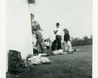 "Vintage Photo ""Resting Boots"" Odd Angle Snapshot Photo Old Antique Photo Black & White Photograph Found Photo Paper Ephemera Vernacular - 16"