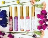 Organic Bee Venom Lip Plump Boosters / Lip Gloss Treatment, Lip Gloss Shimmer Sparkle Tints, Sweet Honey Citrus, Bee Venom Natures Botox