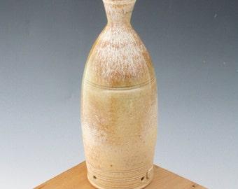 Green to Gold Incense Burner #03, No Mess Ceramic Incense Bottles, Pottery Incense Burner, Incense Holder