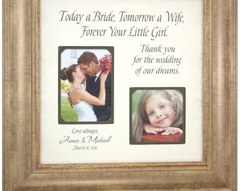 Father Of The Bride Gift, Personalized Wedding Gift Parents, 16 X16