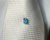 Sky Blue Topaz Tie Tack
