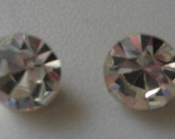 Vintage Swarovski Crystal Rhinestones ss50 12mm Article 1100 QTY - 2 LAST ONES
