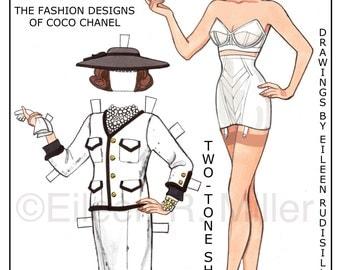 Chanel Fashions Paper Doll