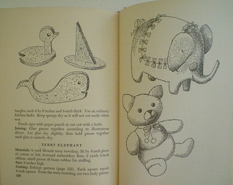 Make It For Baby Vintage Book of Knitting, Sewing and Handicrafts 1950s Nursery Needs