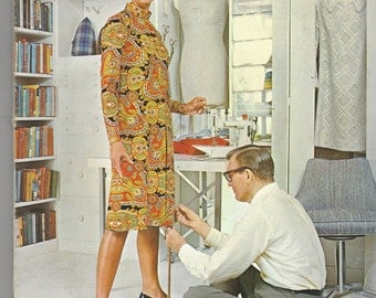 Vintage 1960s McCall's Step by Step Sewing Book for Dressmaking and Tailoring