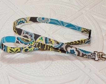 Fabric Lanyard - Breakaway Lanyard -  ID Badge Holder - Badge Holder