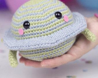Crochet pattern - Satu the planet by Tremendu - amigurumi crochet toy, PDF digital pattern