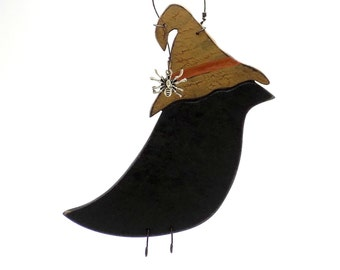 Crow, Crow Trends, Crow Finds, Autumn Finds, Autumn Trends, Halloween Finds, Halloween Trends, Crow Ornament, Halloween Ornament, Scarecrow
