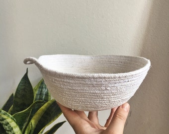 medium rope bowl //