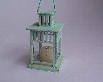 Lantern for dollhouse - miniatures 1:12 scale