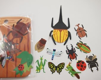 Insect Deco Sticker (71 sheet)
