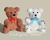 Baby Washcloth Teddy Bear...