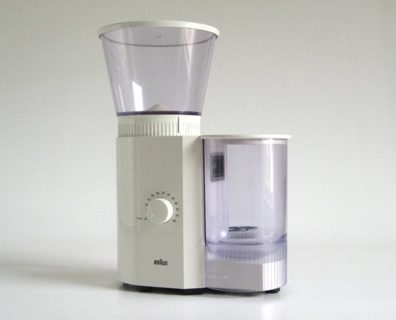 Braun Coffee Grinder ~ Braun coffee grinder burr kmm made in spain