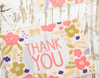 10 THANK YOU candy or cookie bags