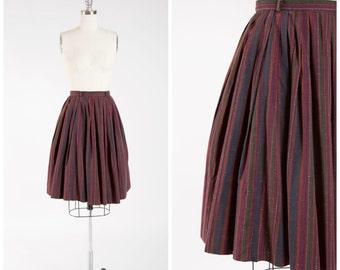 Vintage 50s Skirt Black Basket Weave Brocade 1950s Vintage Pencil Skirt Size Small Medium
