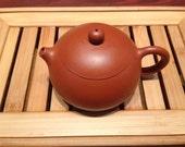 Chinese Yixing Zhuni Zisha Teapot, Xishi style, 180 ml