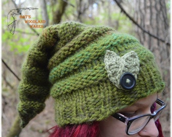 Knitted Elf Hat - Ferula