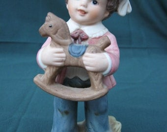 HomCo Victorian Boy Porcelain Figurine #1419