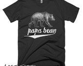 Papa Bear T Shirt Mens Grizzly Bear T Shirt Fathers Day Gifts For Dad Husbands T Shirt Funny Tee Shirt Dads Presents Humor Tees
