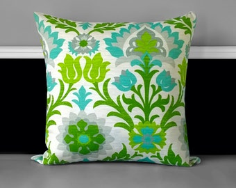 "Pillow Cover - Santa Maria Mint Julep 20"" x 20"""