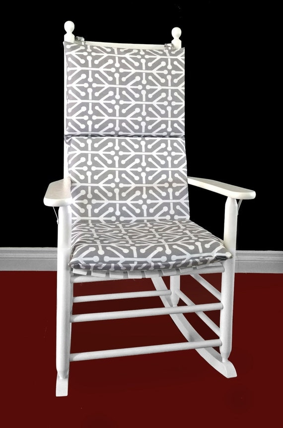 Rocking Chair Cushion Cover Aruba Grey By RockinCushions On Etsy