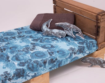 Ocean bedding etsy for Ocean bed meaning